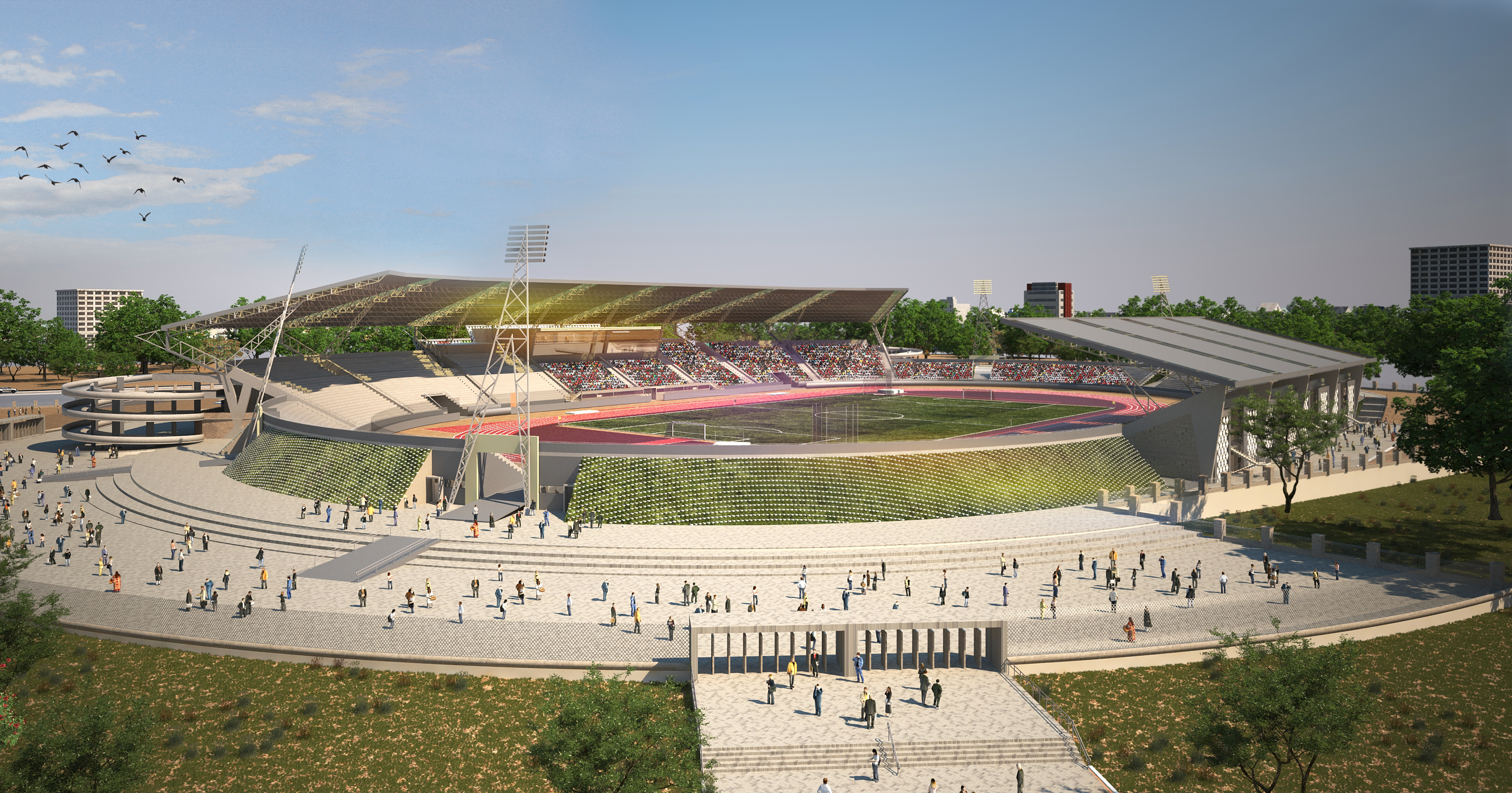 Kipchoge Stadium Phase 2