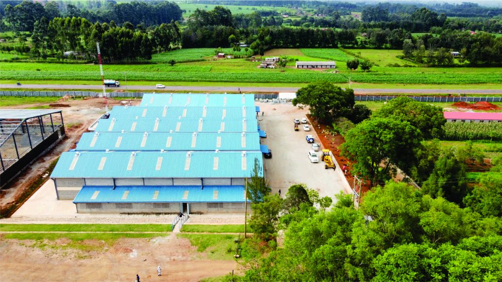 Proposed Warehouse Project For Khetia Drapers Ltd - Amagoro